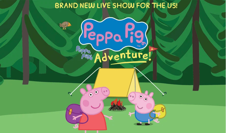 <p>2 VIP Tickets to Peppa Pig's Adventure Live with Adventure Party Pass Character Meet-N-Greet at the Show of Your Choice</p>